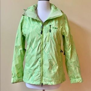 Outdoor Research Green Snowboard Ski Jacket